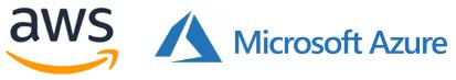 Microsoft Azure and AWS.