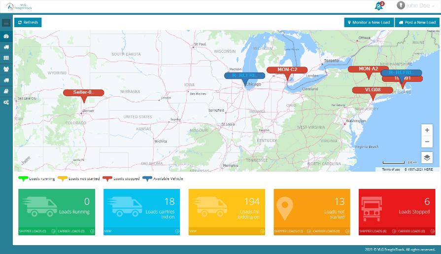 Transport Management System for Logistics