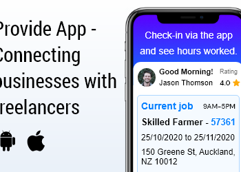 Provide App Connecting businesses with freelancers