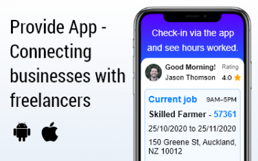 Provide App – Connecting Businesses with Freelancers